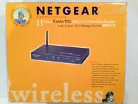 Netgear 11 Mbps Cable/DSL 802.11b Wireless Router MR314 - under offer
