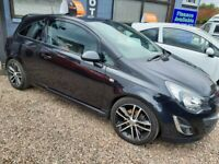 ✅ VAUXHALL CORSA BLACK EDITION (2014)⭐ I YEARS MOT ⭐1 OWNER FROM NEW ✅
