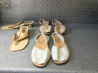 Ladies shoes 3 pairs. Size 8