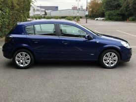 2008 VAUXHALL ASTRA 1.8 DESIGN AUTOMATIC IN METTALIC ULTRA BLUE PEARL