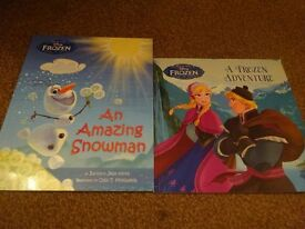 New 2 Lovely Bedtime Picture Story Books Frozen An Amazing Snowman and Frozen A Frozen Adventure