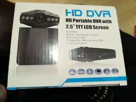Brand new dash cam still in box