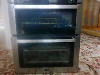 Stoves ST SEB700FPS stainless built in double oven