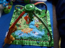 Fisher Price Rainforest™ Melodies and Lights Deluxe Gym