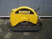 """Dewalt DW871 14"""" Metal Cutting Chopsaw 110v"""