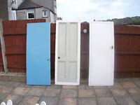 3 internal wooden doors