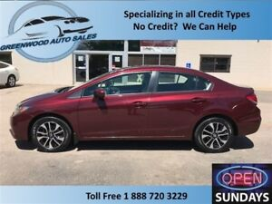 2014 Honda Civic EX WITH SUNROOF... FINANCE NOW!!!!
