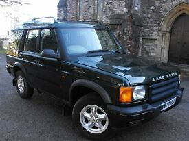 land rover discovery2, 2.5 td5 gs station wagon 7 seater