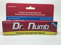 Dr Numb UK Stock Tattoo Waxing Piercing Numbing Cream 30gm Tube