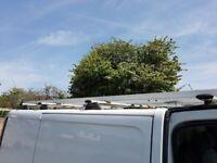 BT roof rack and pipe box for SWB Vivaro, Traffic, Primastar MAKE AN OFFER!!