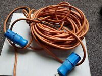 Long 110v Extension Lead Cable 16 Amp