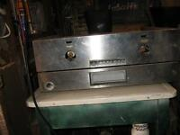 OLD GARLAND GAS GRILL