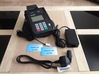 Hypercom ICE 5500 FastPOS Card Terminal with Stand, Phone/Power Leads