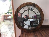Rustic mirror brand new