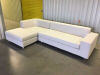 John Lewis fabric corner sofa in very good condition RRP£1749 // free delivery