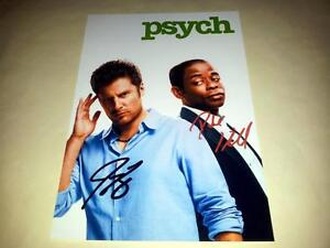 PSYCH-CAST-X2-PP-SIGNED-12-X8-INCH-POSTER-JAMES-RODAY-DULE-HILL