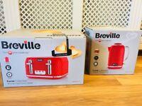 BRAND NEW BREVILLE KETTLE & TOASTER SET
