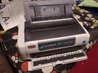 USED OKI MIRCOLINE 5720 ECO Printer Dot Matrix