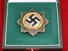 WW2 Gold Cross for outstanding bravery 100 % original. York Area Preview