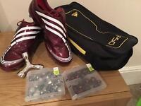 Adiddas +F50.9 Messi editions tunit kit color cardinal size 9 UK
