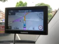 Sat nav garmin come with free speed camera alert was£140