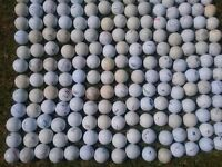125 mixed golf balls
