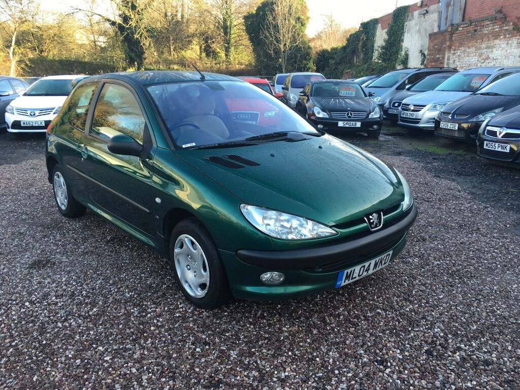 peugeot 206 1 4 hdi lx 3dr a c green 2004 in stourbridge west midlands gumtree. Black Bedroom Furniture Sets. Home Design Ideas