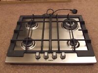 Zanussi Gas Hob - as new ( slight marks), never used.