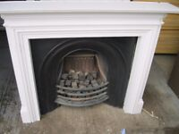 Lovely Cast Iron Fire Place For Sale, Comes Complete With A Wooden Surround! £300 Takes It!