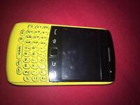 Blackberry curve 9360 yellow