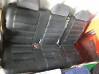 Vw t5 rear triple multi seat.