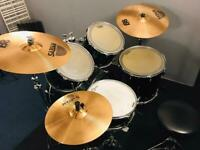 Yamaha Stage Custom Absolute Nouveau Drum Kit with Sabian B8 Cymbals