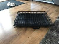 Pet cage carrier medium
