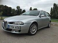 £900 ! 76500 MILES ! SERVICED ! ALFA ROMEO 156 SW 1.9 M-JET 16V FACELIFT 2004!6 SPEED!SERVICE STAMPS