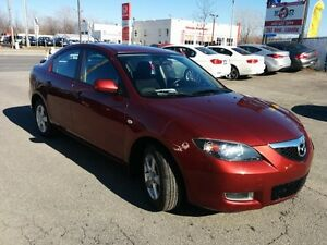 "2009 Mazda Mazda3 GS""ONLY 33000 KM"", Manual, ** 1 AN DE GARANTY*"