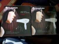 2 x stylecare hairdryers