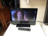 19 inch sony bravia hd tv with built in freeview and remote
