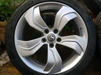 "Vauxhall Zafira Tourer, GTC 19"" Alloys"