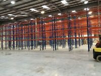 job lot 80 bays AR Systemas pallet racking AS NEW( storage , shelving )