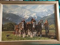 Peter Morath print (framed)