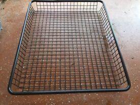 The Rhino-Rack Steel Mesh Basket Size 4ft 4 x 3ft 6