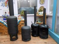 log burner/ patio heater
