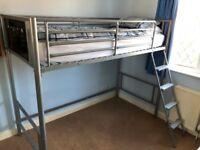Metal Framed High Sleeper Single Bed