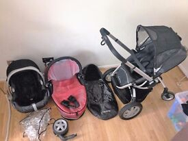 quinny buggy 3in1