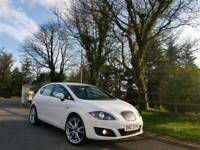 CANDY WHITE SEAT LEON 1.6 TDI COPA FINANCE AVAILABLE FROM £125 PER MONTH