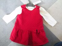 baby girl clothes 3-6 months christmas bundle dresses jackets