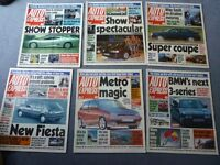380 issues of Auto Express magazine