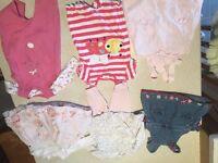 baby girl clothes bundle newborn to 3 mths
