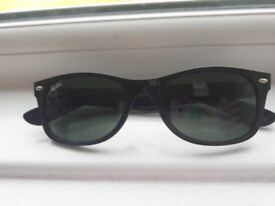 Ray Ban Wayfarer Junior. Suit small adult too. Worn Once RRP £75