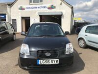 Reg. 01/09/2006 KIA PICANTO GS 1.0L PETROL, 5 DOOR, FSH, ONLY 27K, MUST BE SEEN, READY TO GO